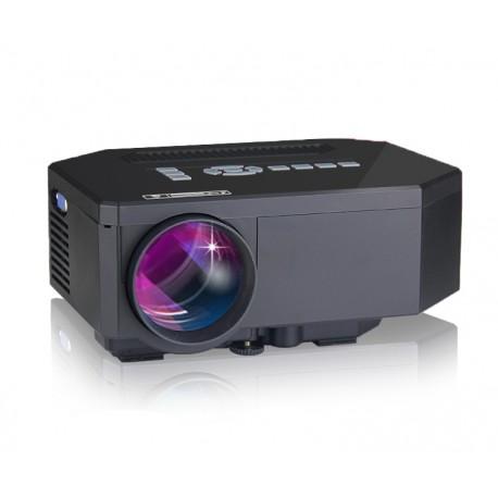 VideoProiector LED Techstar BT300 Black cu conexiune HDMI USB si SD