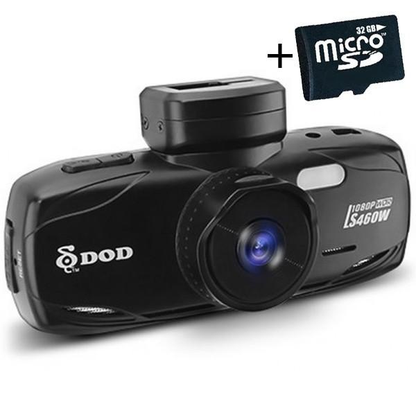 "Camera auto DVR DOD LS460W, Full HD, GPS, senzor Sony, lentile Sharp, WDR, G senzor, 2.7"" LCD, + Card 16GB imagine techstar.ro 2021"