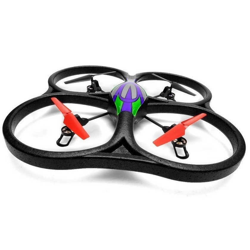 Drona iUni V262, leduri pentru exterior, Telecomanda WiFi, Giroscop, Negru imagine techstar.ro 2021