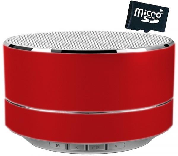 Boxa Portabila Bluetooth iUni DF11, Radio, Aluminiu, Red + Card 4GB Cadou imagine techstar.ro 2021