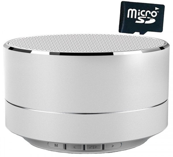 Boxa Portabila Bluetooth iUni DF11, Radio, Aluminiu, Silver + Card 4GB Cadou imagine techstar.ro 2021