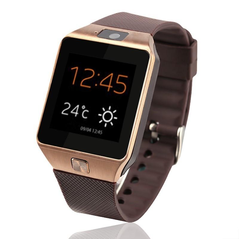 Ceas Smartwatch cu telefon iUni U15 A+, Camera, BT, 1.5 Inch, Carcasa metalica, Gold