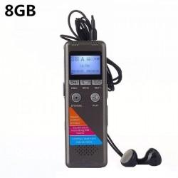 Microfon Spion Reportofon Profesional iUni SpyMic REP01, 8Gb, MP3 Player
