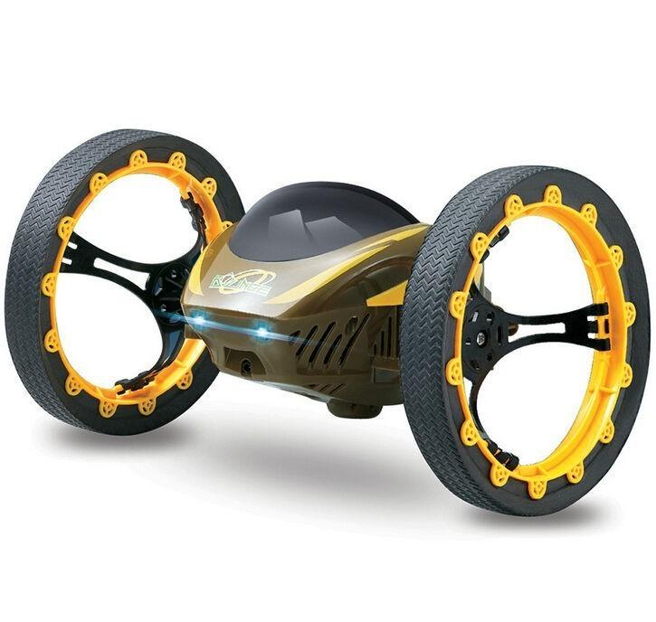 Drona iUni Bounce Car 222, Jumping Sumo, 4 Canale, 2.4 Ghz, Galben imagine techstar.ro 2021