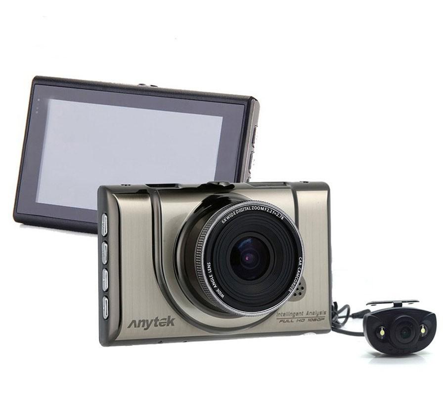 Camera auto DVR iUni Dash 100H, Dual Cam, Full HD, WDR, 170 grade, by Anytek imagine techstar.ro 2021