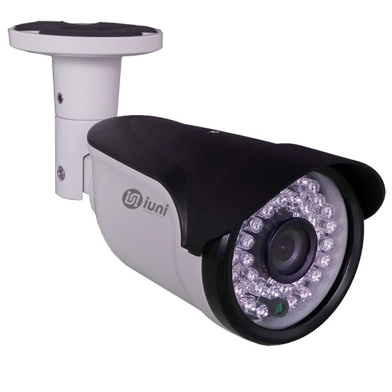 Camera supraveghere iUni ProveCam AHD 1008E, lentila 3.6mm, 1 MP, 36 led IR imagine techstar.ro 2021