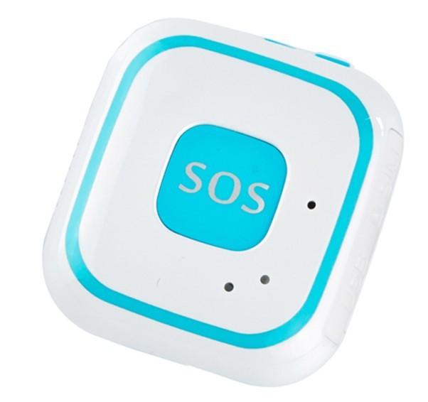 Mini GPS Tracker iUni V29, SOS, GPS+LBS+WIFI, copii si varstnici, Albastru imagine techstar.ro 2021