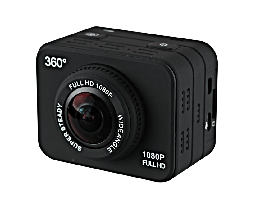 camera sport panoramica 360 grade x360 allview vr 1080p full hd 12mp waterproof wifi actioncam
