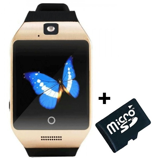 Smartwatch cu telefon iUni Apro U16, Camera, BT, 1,5 inch, Auriu + Card MicroSD 4GB Cadou imagine techstar.ro 2021