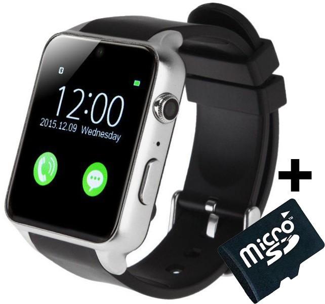 Ceas Smartwatch Telefon iUni GT88, BT, Camera 2 MP, 1.54 Inch, Silver + Card MicroSD 4GB Cadou imagine techstar.ro 2021