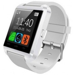 Resigilat! Smartwatch iUni U8+, BT, LCD 1.44 inch, Notificari , Bluetooth, Alb