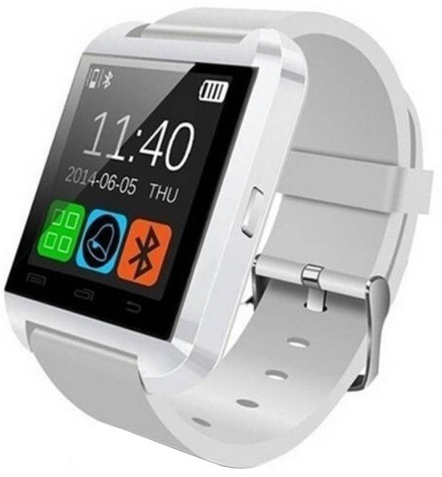 Resigilat! Smartwatch iUni U8+, BT, LCD 1.44 inch, Notificari , Bluetooth, Alb imagine techstar.ro 2021