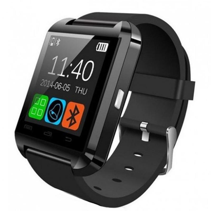 Resigilat! Smartwatch iUni U8+, LCD 1.44 inch, Notificari, Bluetooth, Negru imagine techstar.ro 2021