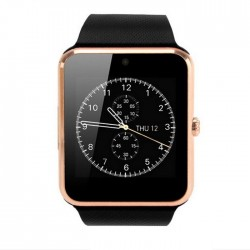 Resigilat! Smartwatch cu Telefon iUni GT08s Plus, Camera 1,3 Mp BT, LCD 1.54 inch Antizgarieturi, Gold edition