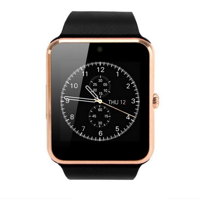 Resigilat! Smartwatch cu Telefon iUni GT08s Plus, Camera 1,3 Mp BT, LCD 1.54 inch Antizgarieturi, Gold edition