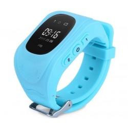 Resigilat! Ceas cu GPS Tracker si Telefon pentru copii iUni Kid60, BT, Apel SOS, Activity and sleep, Albastru
