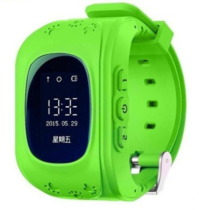 Resigilat! Ceas cu GPS Tracker si Telefon pentru copii iUni Kid60, BT, Apel SOS, Verde