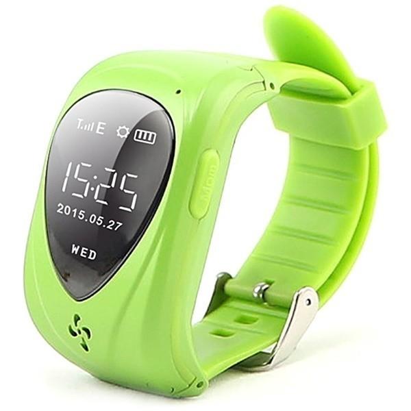 Resigilat! Ceas GPS Copii iUni U11,Telefon incoporat, Alarma SOS, Green