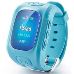 Resigilat! Ceas GPS Copii iUni U6, Localizare Wifi, Apel SOS, Pedometru, Monitorizare somn, Blue