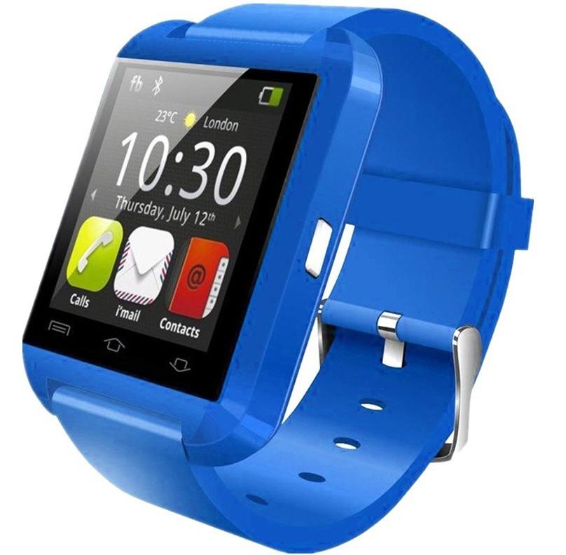 Resigilat! Ceas Smartwatch iUni U8+, BT, LCD 1.44 inch, Notificari, Albastru imagine techstar.ro 2021