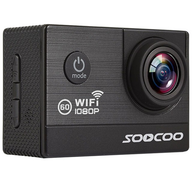 """Camera Video Sport iUni Dare C20 Black, WiFi, GPS, mini HDMI, 2"""""""" LCD, 1080P Full HD, Unghi filmare 170 grade imagine techstar.ro 2021"""