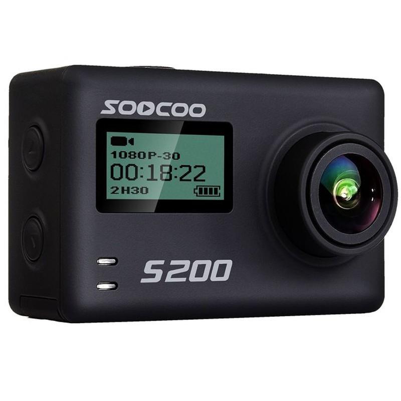 Camera Video Sport 4K iUni Dare S200 Black, WiFi, GPS, mini HDMI, 2.4 inch LCD, Unghi filmare 170 grade imagine techstar.ro 2021