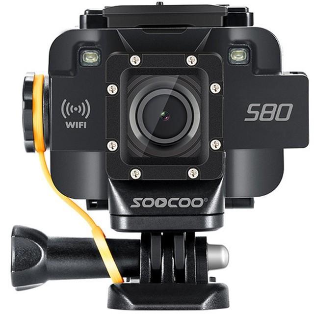 Camera Video Sport iUni Dare S80 Black, WiFi, GPS, mini HDMI, 1.5 inch LCD, Starlight Night Vision by Soocoo imagine techstar.ro 2021