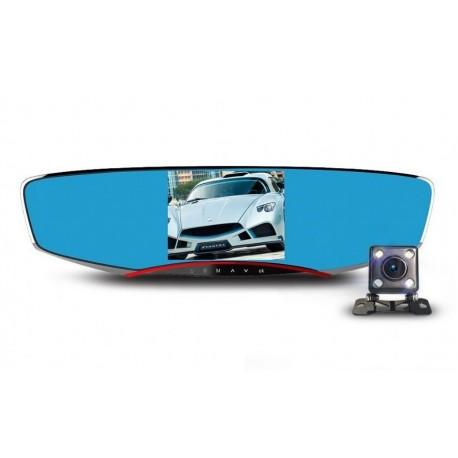 Resigilat! Camera Auto Dubla iUni Dash M80, Full HD, display 4.3 inch, 170 grade, Anytek
