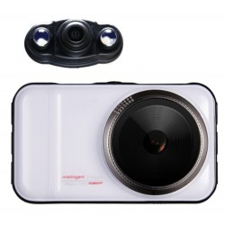 Resigilat! Camera auto DVR iUni Dash 66H, Dual Cam, Full HD, WDR, 170 grade, by Anytek