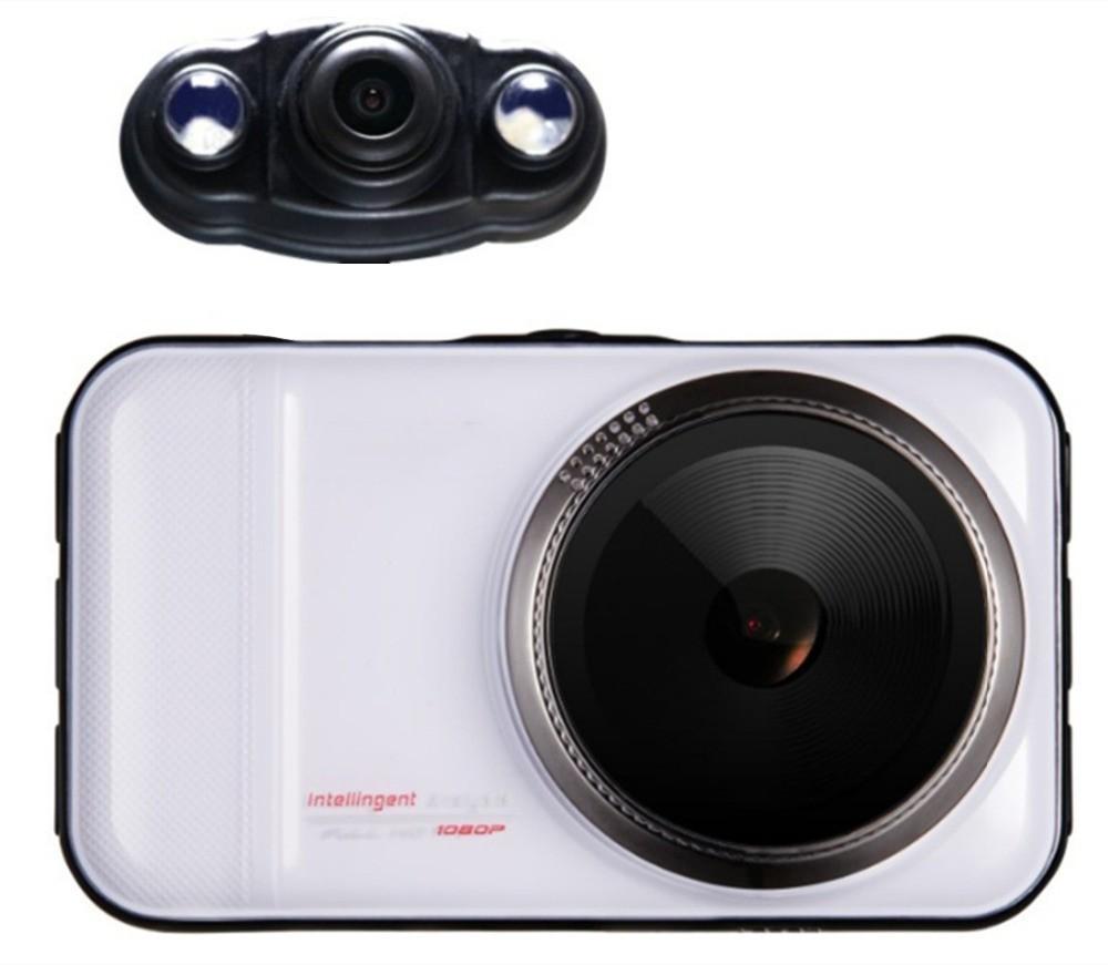 Resigilat! Camera auto DVR iUni Dash 66H, Dual Cam, Full HD, WDR, 170 grade, by Anytek