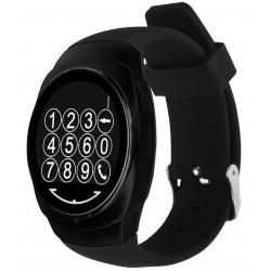 Resigilat! Ceas Smartwatch iUni Classic O100, BT, LCD 1.3 Inch, Negru