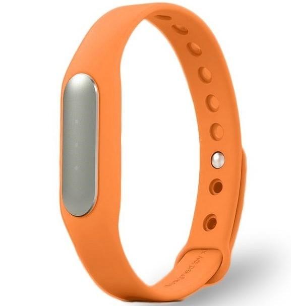 Resigilat! Bratara fitness iUni MI1, Bluetooth, Activity and Sleep, Portocaliu imagine techstar.ro 2021
