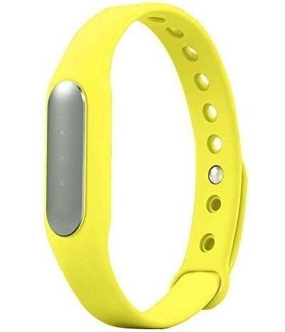 Resigilat! Bratara fitness iUni MI1, Bluetooth, Activity and Sleep, Galben imagine techstar.ro 2021
