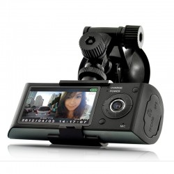 Resigilat! Camera Auto Dubla Cu GPS iUni Dash X3000 Plus, display 2.7 inch
