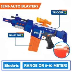 Arma de jucarie, electrica, semiautomata, S-GUN + 100 rezerve
