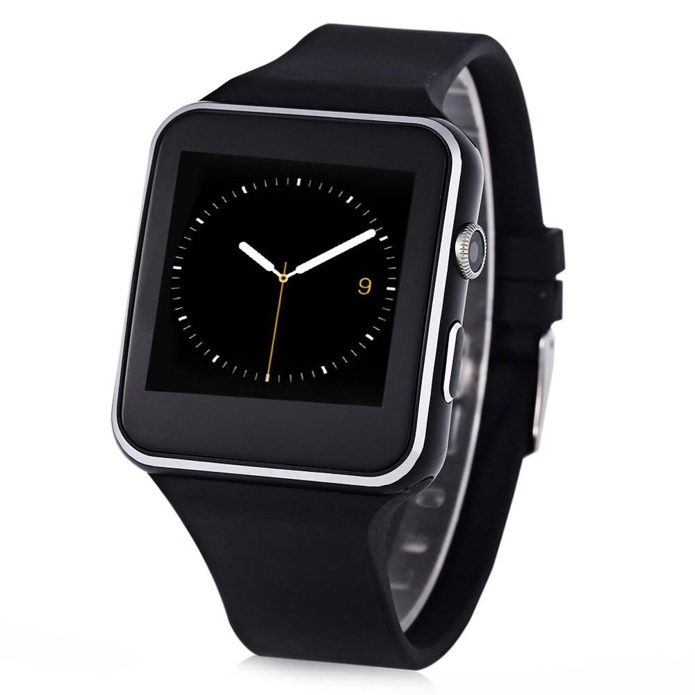 Smartwatch X6S Bluetooth Compatibil MicroSD si SIM Cu Camera Negru poza 2021