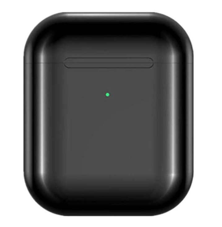 Casti i9000 TWS AIR 2 Techstar®, Bluetooth 5.0, Wireless QI, Pentru Android si iOS, Negru imagine techstar.ro 2021