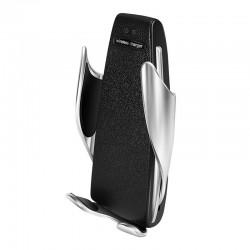 Suport incarcator telefon auto S5 Wireless, Senzor inchidere si deschidere fast Fast Charge Universal, compatibil Android & iOS