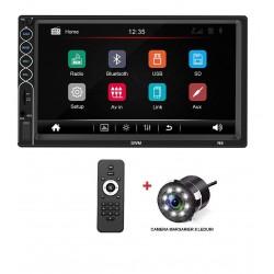 Radio Mp5 player auto SWM N6 2din universal 2019 Rama Camera Marsarier Bluetooth Navigatie MirrorLin
