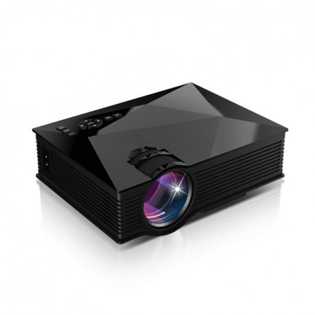 VideoProiector LED Mini TechStar BT460 Black Cu Conexiune HDMI USB Si VGA