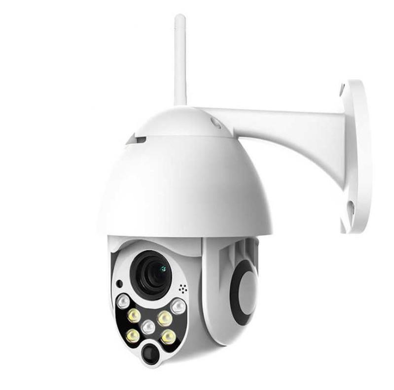 Camera Supraveghere PTZ IP Wi-fi Techstar® P11, Outdoor Speed Dome, Wireless, Wateproof, 320°, 1080p