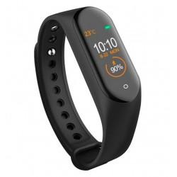 Bratara Sport M4 Techstar® Pentru Fitness, Monitorizarea Presiunii Sangelui si A Batailor Inimii, Negru