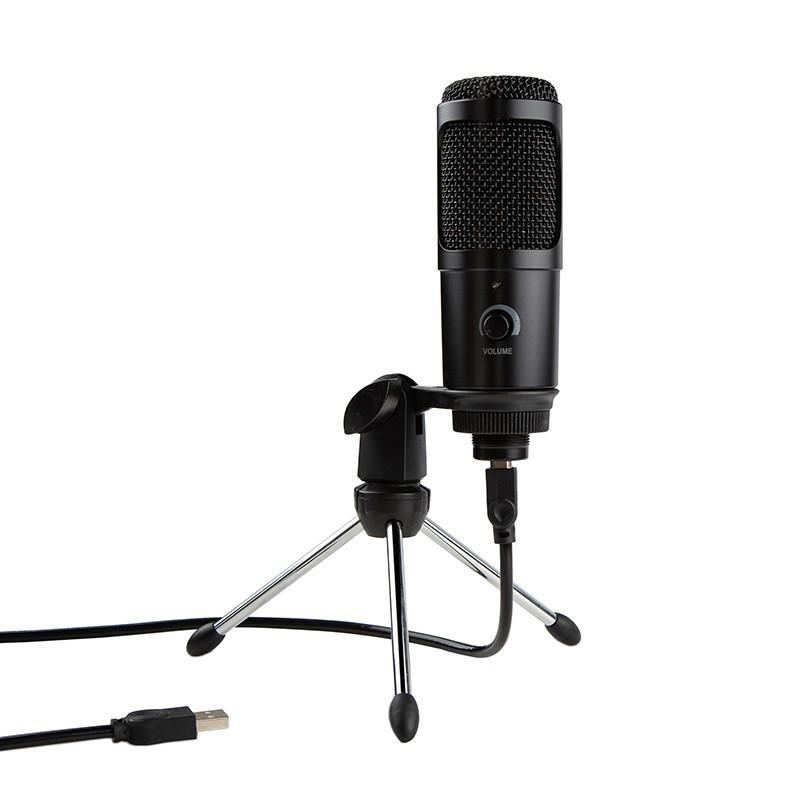 Microfon USB Techstar®, Plug And Play, Condensator pentru Jocuri pe Calculator, Inregistrare si Youtube imagine techstar.ro 2021