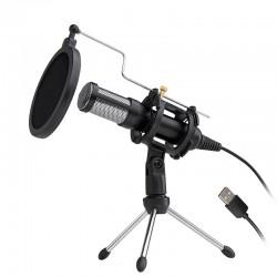 Microfon De Inregistrare Techstar®, Pentru Youtube si PlayStation