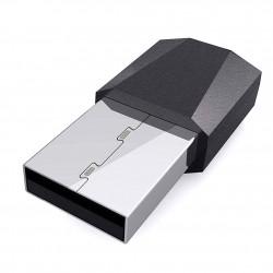 Mini Receptor Adaptor Bluetooth Car Kit Techstar®, Wireless cu USB si Auxiliar