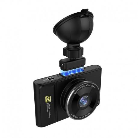 "Camera Video Auto DVR Techstar® H3 Pro Ultra HD 4K, Procesor 96660, Display 3"" IPS, GPS Logger, WiFi Android & iOS"
