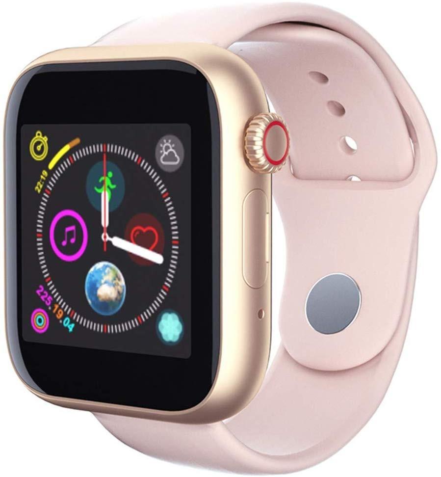 Ceas Smartwatch cu telefon iUni Z6S, Touchscreen, Bluetooth, Notificari, Camera, Pedometru, Pink