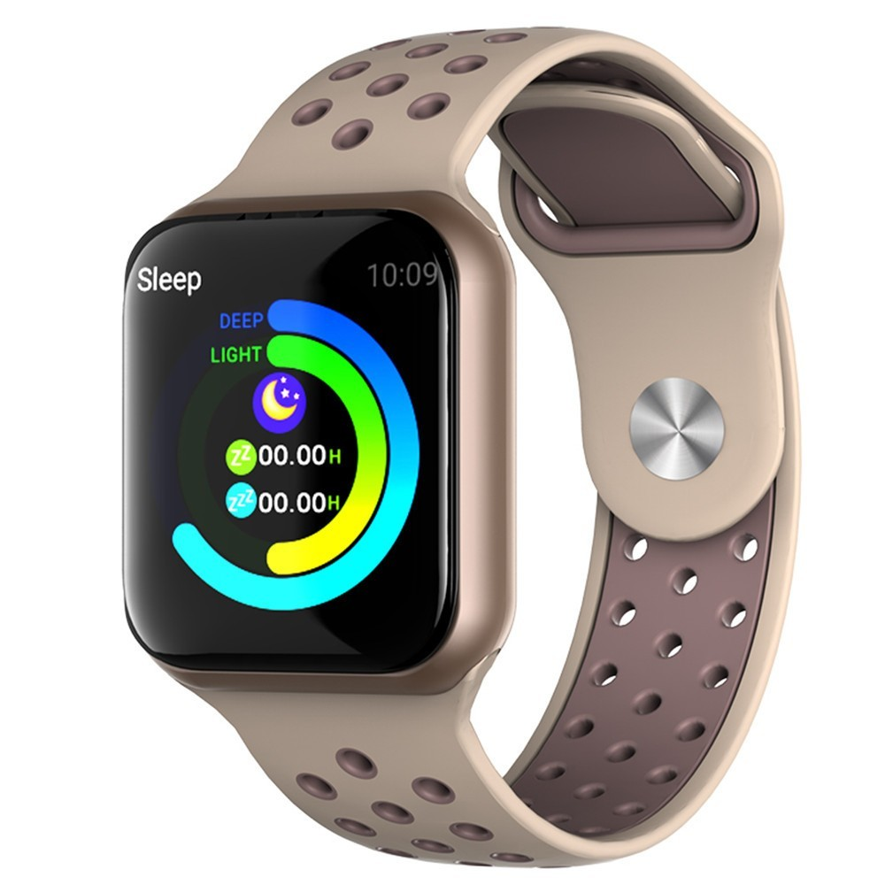 Bratara Fitness iUni F8, Bluetooth, Notificari, Pedometru, Memento Sedentarism, Gold