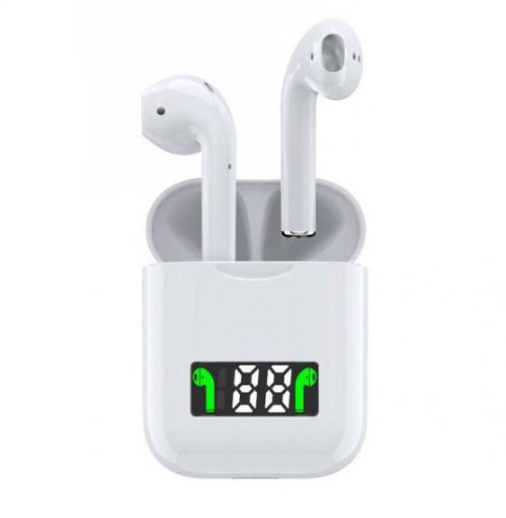 Casti i99 TWS Techstar®, Bluetooth 5.0, Incarcare Wireless QI, Afisaj Digital, Waterproof IPX6 imagine techstar.ro 2021