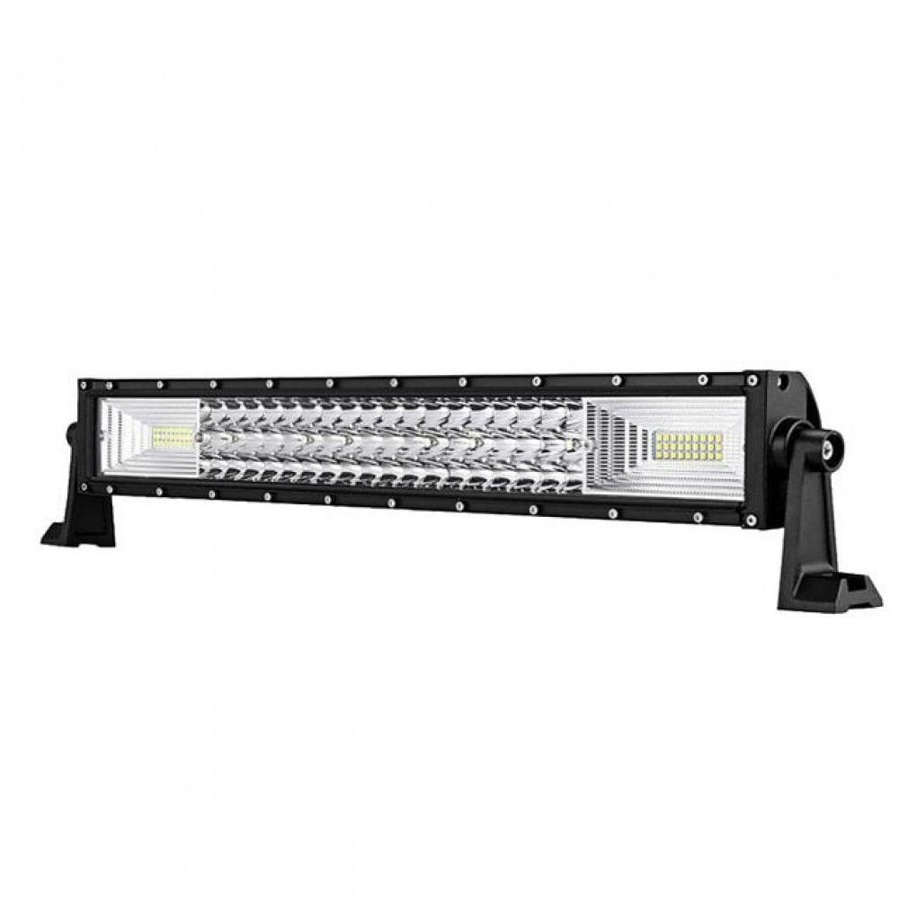 Proiector LED Bar, Off Road, 3 randuri leduri, 270W, 50cm imagine techstar.ro 2021